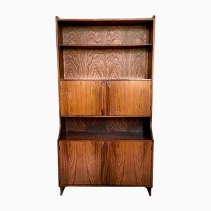 Italian Wood Bookcase, 1960s