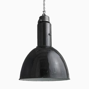Lampe d'Usine en Email, Allemagne