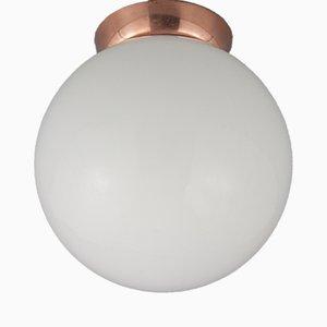 Vintage Flur Deckenlampe, 1950er