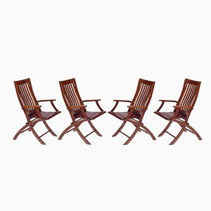 Vintage Deck Klappstühle von Starbay, 4er Set