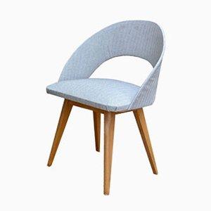 Vintage Light Grey Cocktail Chair