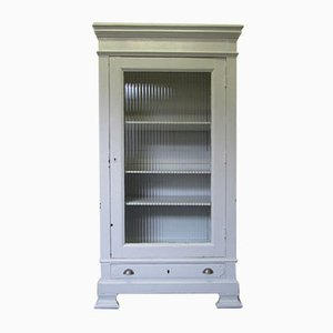 Light Gray Wooden Medicine Cabinet
