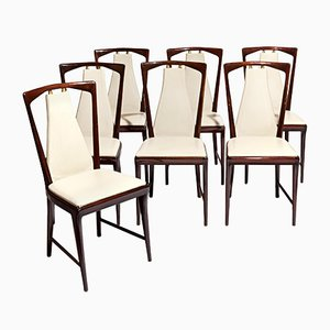 Esszimmerstühle von Osvaldo Borsani für Arredamento Borsani, 1949, 7er Set
