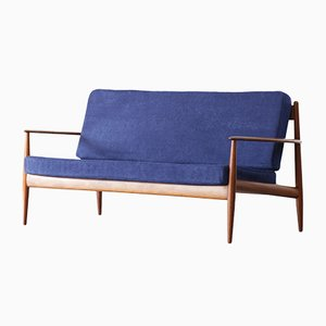 Danish Teak Sofa by Grete Jalk for France & Søn