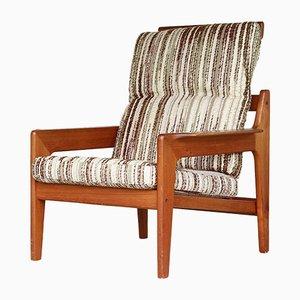Easy Chair Vintage par Arne Wahl Iversen pour Komfort