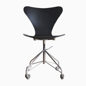 3117 Office Chair by Arne Jacobsen for Fritz Hansen, 1967