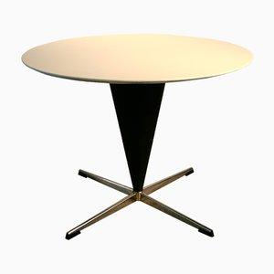 Tavolo conico Mid-Century di Verner Panton per Gebrüder Nehl, 1958