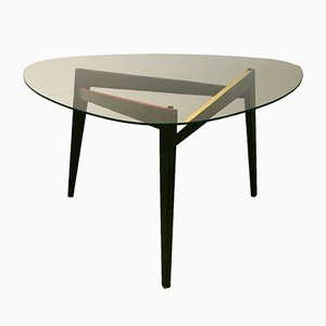Table Basse Vintage Triangulaire, Italie,1950s