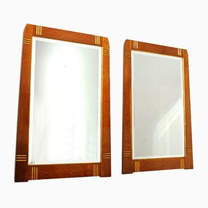 Catalan Modernist Mirrors, 1920s, Set of 2