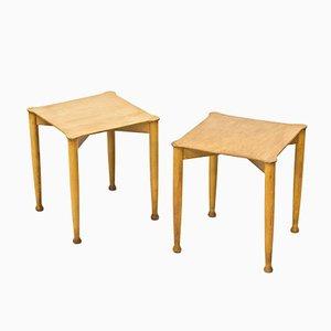 Tavolini, Svezia, anni '40, set di 2