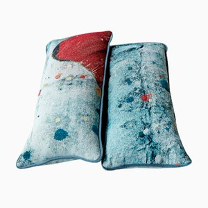 Lumbar Tapestry Pillows by Martyn Thompson Studio, Set of 2
