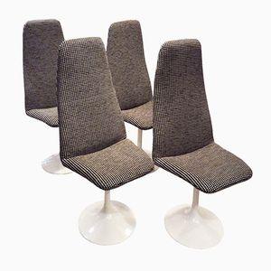Danish Tulip Style Chairs, 1960s, Set of 2