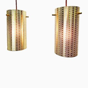 Suspension Lights from Lightolier, 1970s, Set of 2