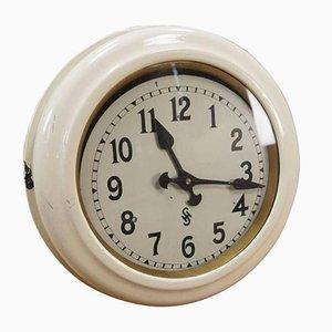 Horloge Murale d'Usine Art Déco de Siemens & Halske