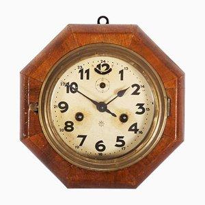 Reloj de pared Art Déco de Junghans
