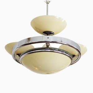 Art Deco Streamline Chandelier