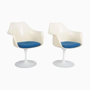 Model 151 Tulip Armchairs by Eero Saarinen for Knoll International, Set of 2