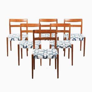 Esszimmerstühle von Nils Jonsson für Troeds, 1960er, 6er Set