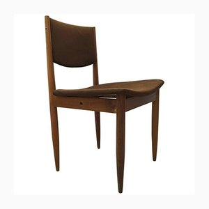 Mid-Century Beech Chair from E & A Pollack, 1950s