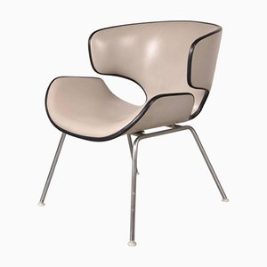 Japanese T-3048M Easy Chair by Isamu Kenmochi for Tendo, 1961