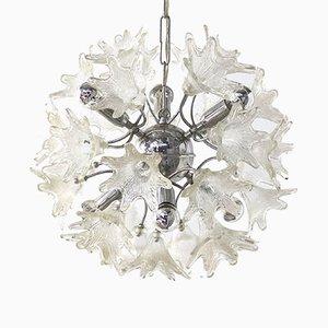 Lampada Sputnik floreale di Paolo Venine per VeArt Italy
