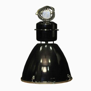Black Metal Industrial Suspension Light