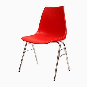 Chaise Rouge de Casala, 1970s