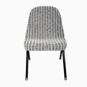 Chaise Easy en Tissu Gris, 1960s