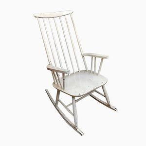 Mid-Century Rocking Chair by Ilmari Tapiovaara