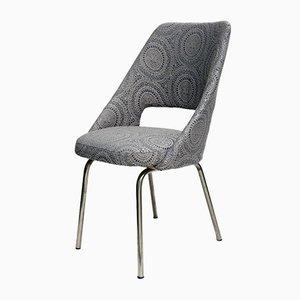 Grauer Vintage Stuhl