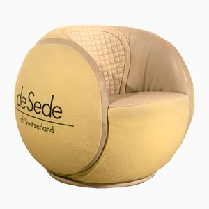 Vintage Tennis Ball Armchair from de Sede, 1985