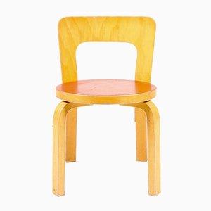 Chaise d'Enfant Vintage Modèle 65 par Alvar Aalto pour Artek