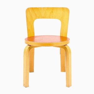 Vintage Model 65 Children's Chair by Alvar Aalto for Artek