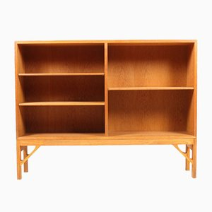Vintage Danish Oak Bookcase by Børge Mogensen for FDB, 1960s