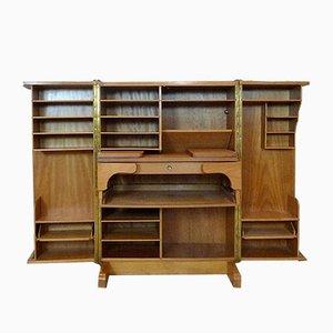 Mueble escritorio plegable de Mummenthaler & Meier, años 50