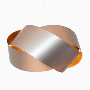 Lámpara de techo vintage con lazo infinito