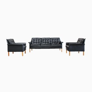 Vintage Sofa & Two Armchairs by Rudolf Glatzel for Kill International