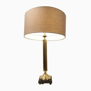Lampada da tavolo vintage imperiale in bronzo di Arlus