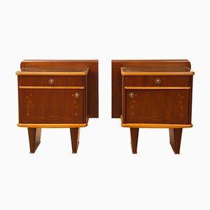 Muebles italianos de habitación de Mario Ballini, años 60. Juego de 2