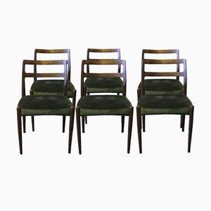 Chaises de Salon Anne par Johannes Andersen pour Uldum Møbelfabrik, 1960s, Set de 6