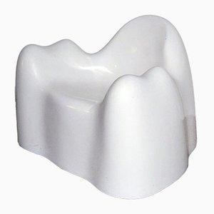 Silla estadounidense con forma de molar de fibra de vidrio de Wendell Castle, años 60