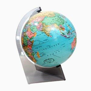 Globo terráqueo danés vintage pequeño de Scan-Globe