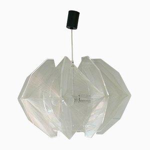 Grande Lampe à Suspension par Paul Secon pour Sompex, 1960s