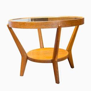 Tavolino da caffè Mid-Century smaltato di Kropacek & Kozelka per Interier Praha