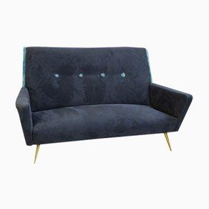 Italienisches Alcantara Sofa