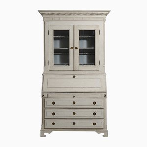 Antique Gustavian Three-Part Bureau, 1780s