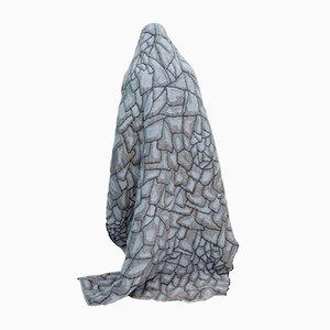 Couverture Hide Grise par Nienke Hoogvliet pour Textiel Museum Tilburg