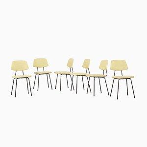 Chaises de Salon Mid-Century par Rudolf Wolf pour Elsrijk, Set de 6