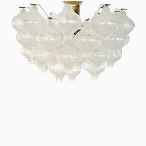 Lámpara de araña Tulipan austriaca vintage de J.T. Kalmar