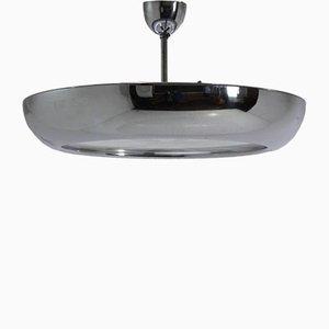 Bauhaus Style Chrome Pendant Lamp by Josef Hurka for Napako, 1930